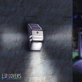 Led Solar Muurlamp 2