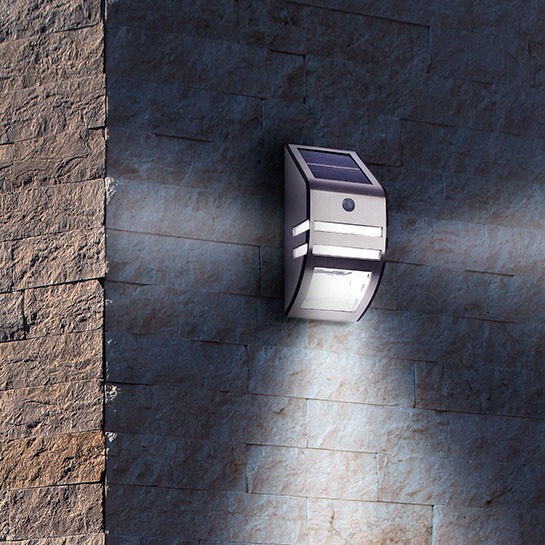 Led Solar Muurlamp 3
