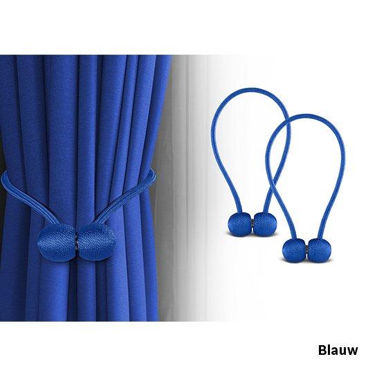 Blauw Gordijnenhouder Sfeer 1