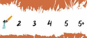 Moeilijkheidsgraad 1 Schilderen Op Nummers Final