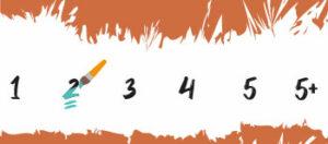 Moeilijkheidsgraad 2 Schilderen Op Nummers Final