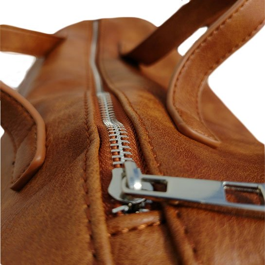 Chimb Dames Handtas Details Bruin 2