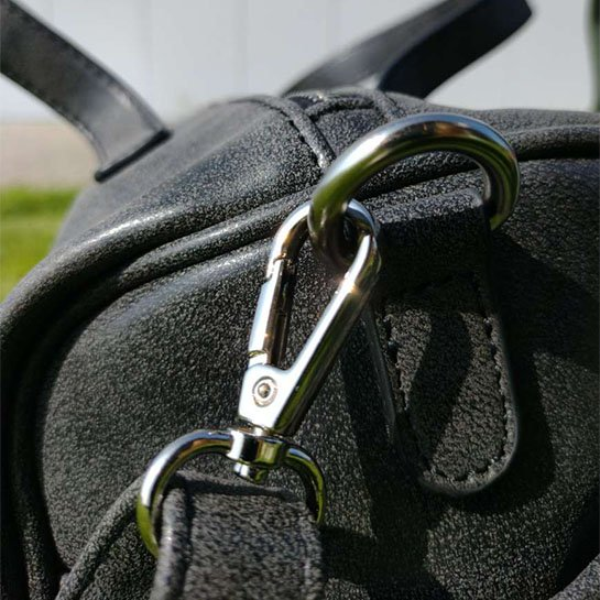 Chimb Dames Handtas Details Zwart 1
