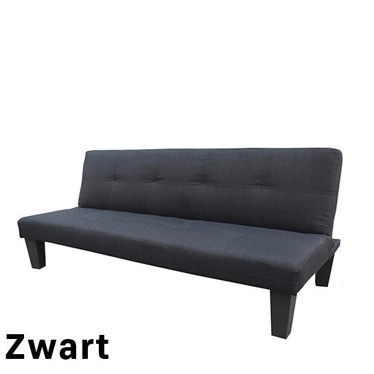 Urban Living Slaapbank Bedbank Zwart 1