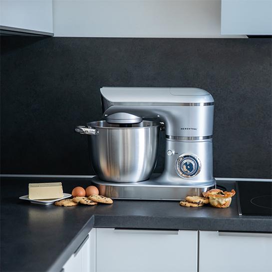Complete Keukenmachine 2200w – 3 In 1 Van Herenthal 1