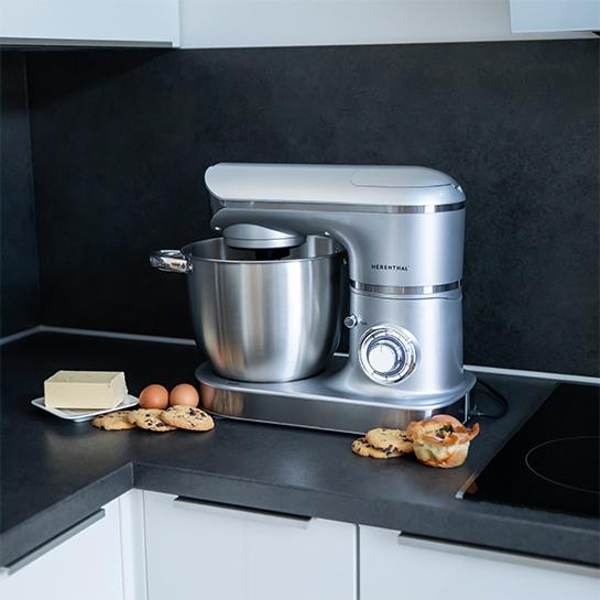 Complete Keukenmachine 2200w – 3 In 1 Van Herenthal 2