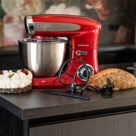 Keukenmachine Basic Red2