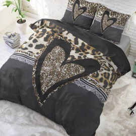 Panther Love Heart Brown 1