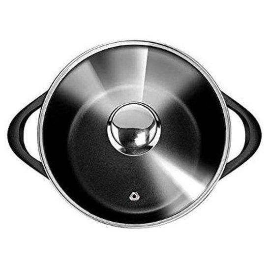 Smile 8 Delige Pannenset Antiaanbaklaag Vaatwasser Bestendig Zwart Geschikt Voor Iedere Kookplaat 3