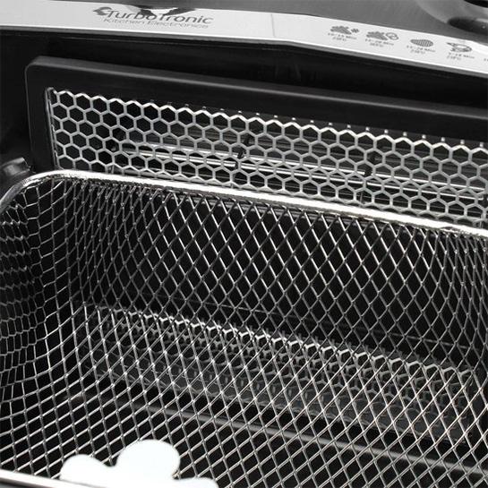 Turbotronic Af1 Rapid Airfryer Hetelucht Friteuse 3.2 Liter 1200w 16