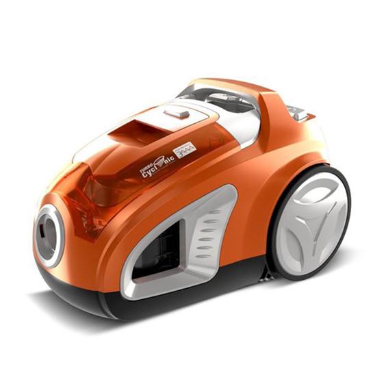 Turbotronic Cv10 Cycloon Stofzuiger Zonder Zak Zakloos 900w Orange 1