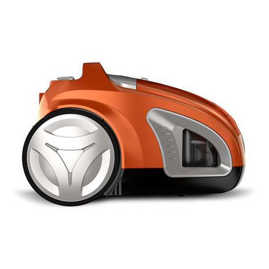 Turbotronic Cv10 Cycloon Stofzuiger Zonder Zak Zakloos 900w Orange 2