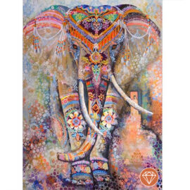 Diamond Painting Olifant