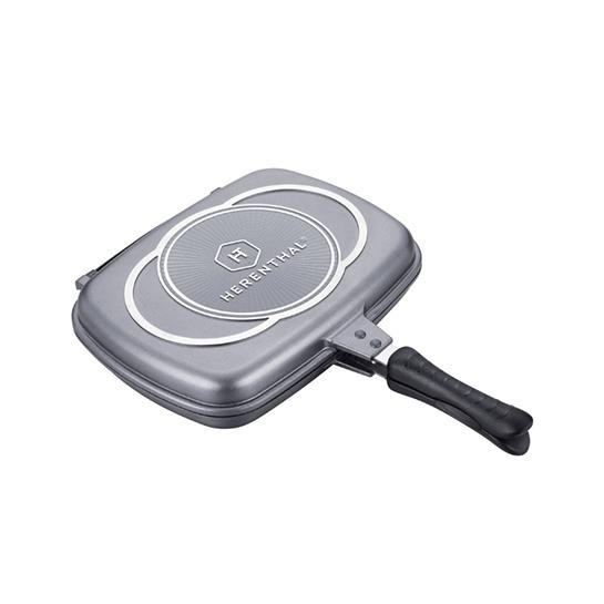 Luxe Dubbele Grillpan 3