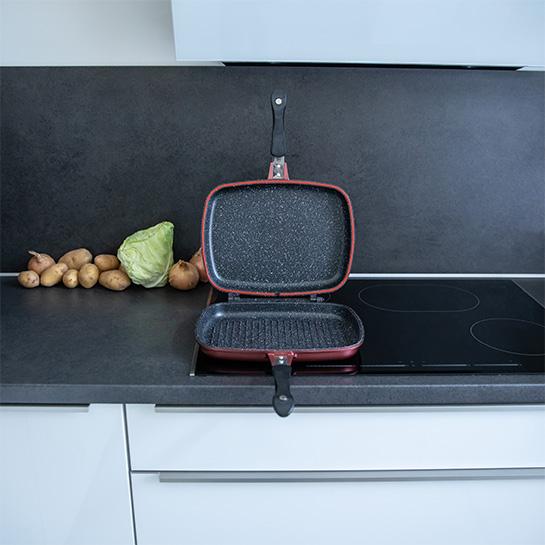 Luxe Dubbele Grillpan Van Herenthal In 3 Kleuren Prime 1