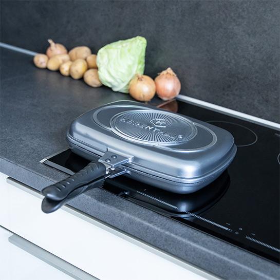 Luxe Dubbele Grillpan Van Herenthal In 3 Kleuren Prime 10