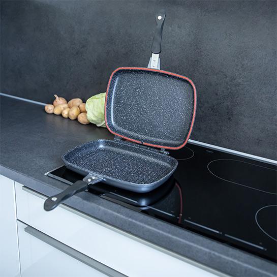 Luxe Dubbele Grillpan Van Herenthal In 3 Kleuren Prime 11
