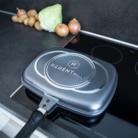 Luxe Dubbele Grillpan Van Herenthal In 3 Kleuren Prime 12