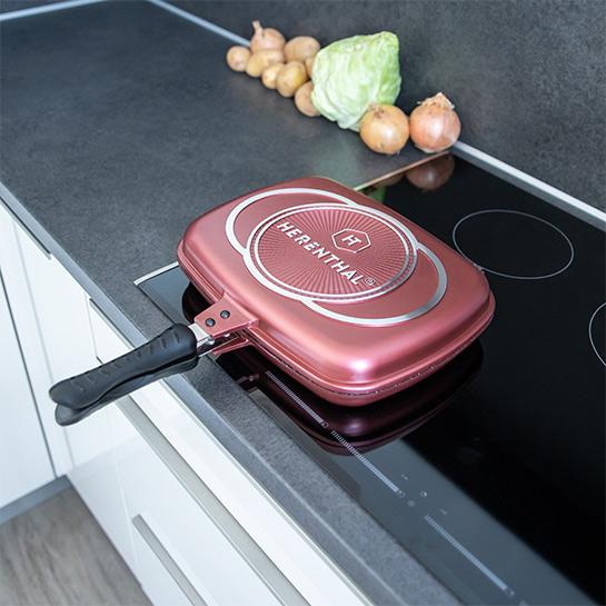 Luxe Dubbele Grillpan Van Herenthal In 3 Kleuren Prime 3