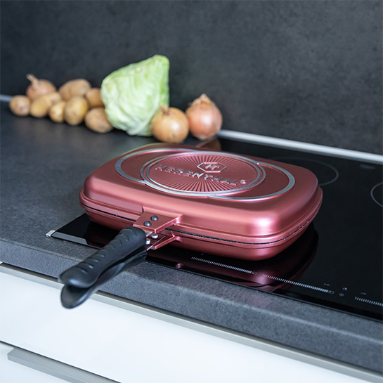 Luxe Dubbele Grillpan Van Herenthal In 3 Kleuren Prime 5