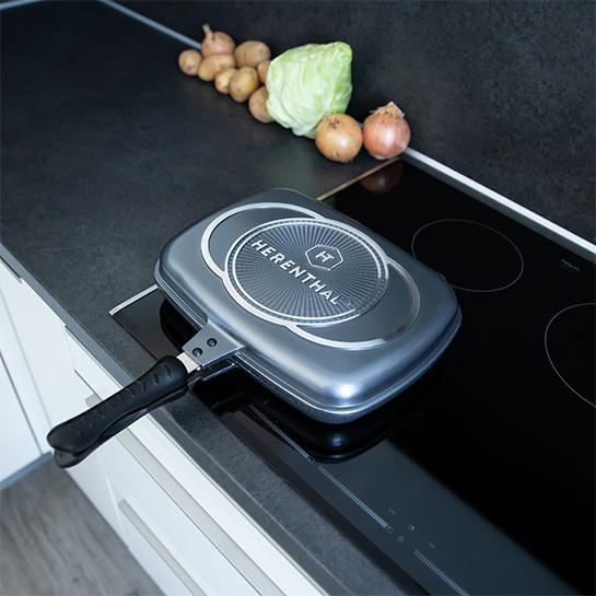 Luxe Dubbele Grillpan Van Herenthal In 3 Kleuren Prime 8