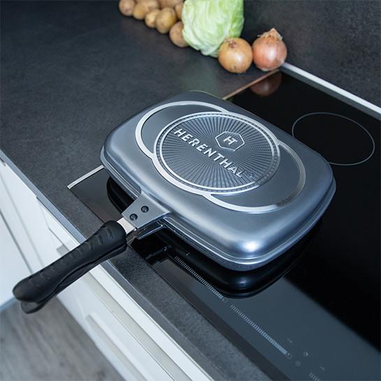 Luxe Dubbele Grillpan Van Herenthal In 3 Kleuren Prime 9