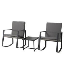 2 Luxe Schommelstoelen Incl. Tafel Mello 11