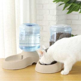 Automatische Drink En Voerbak – Dispenser Van 3,75 Liter – Voor Hond Of Kat 3