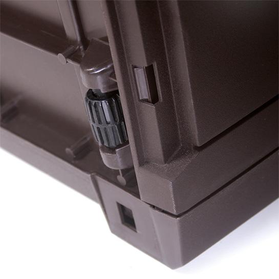 Rotan Opslagbox 119x48x60cm Bruin 3
