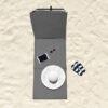 Set Van 2 Opvouwbare Strandmatten4