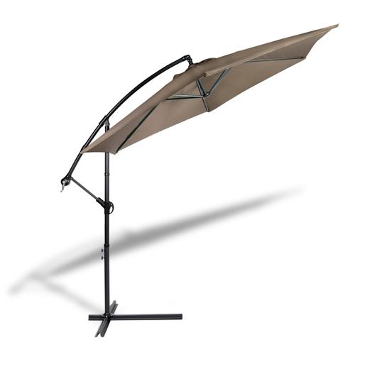 Parasol Met Hoes Bruin