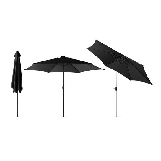 Xl Parasol Zwart