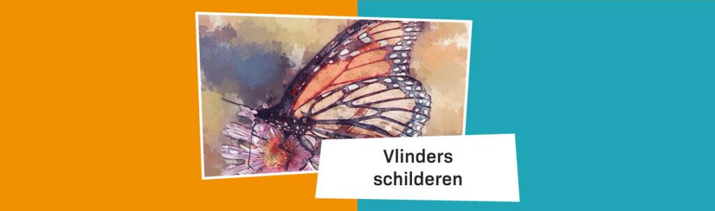Blog Banner Vlinders Schilderen