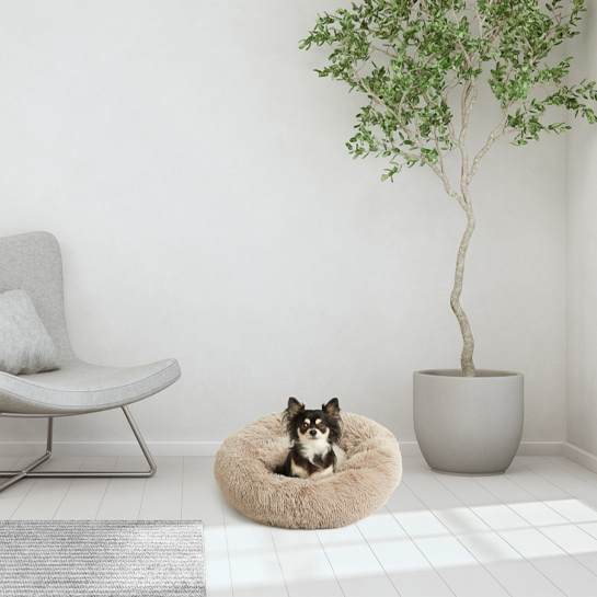 Hondenmand Roze5