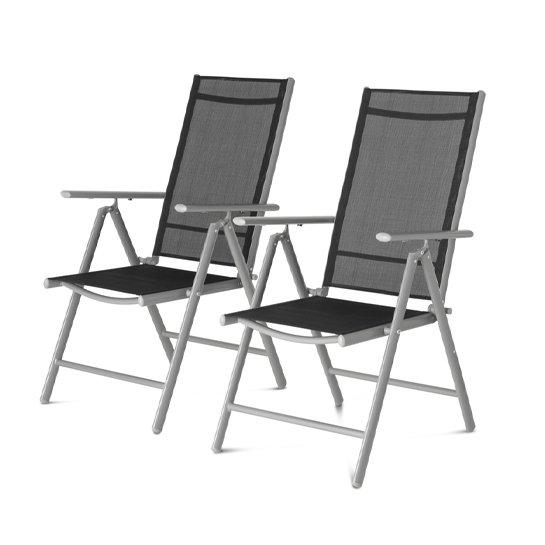 Aluminium Tuinstoel Set