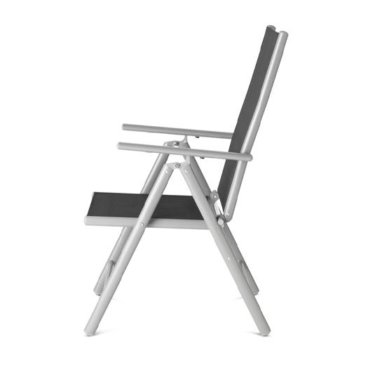 Aluminium Tuinstoel Set2
