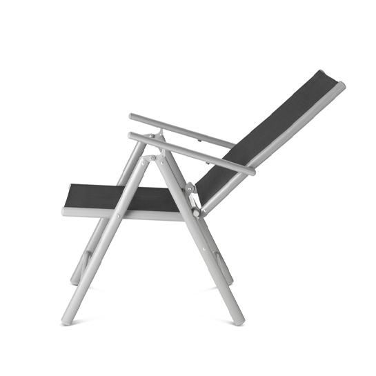 Aluminium Tuinstoel Set3