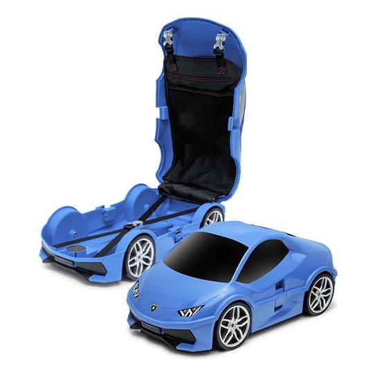 Goodvibes Kindertrolley Lamborghini Blauw2