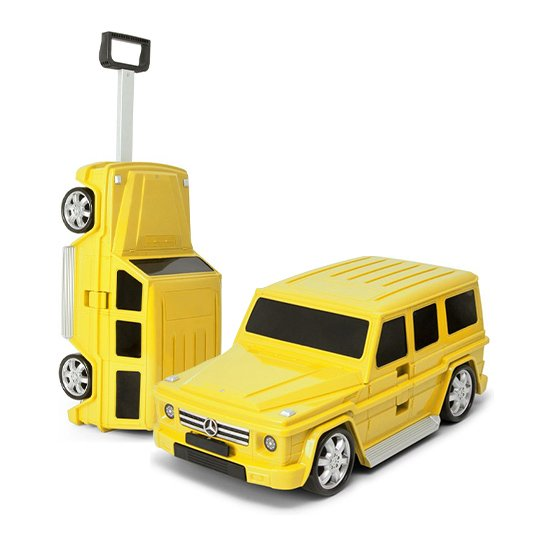 Goodvibes Kindertrolly Mercedes Benz Geel 2