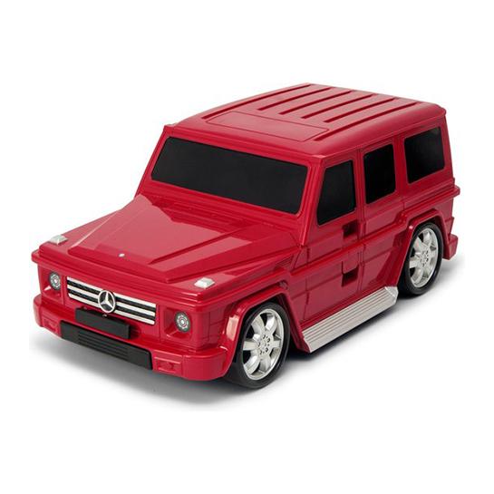Goodvibes Kindertrolly Mercedes Benz Rood