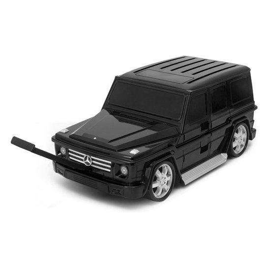 Goodvibes Kindertrolly Mercedes Benz Zwart 5