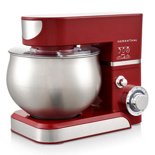 Herenthal Keukenmachine 5l Rood