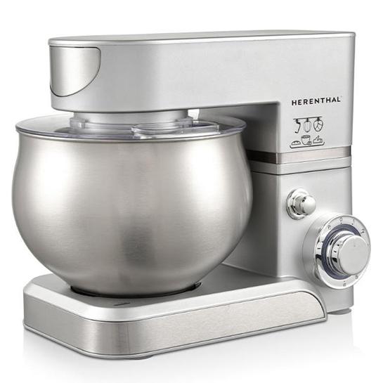 Herenthal Keukenmachine 5l Zilver