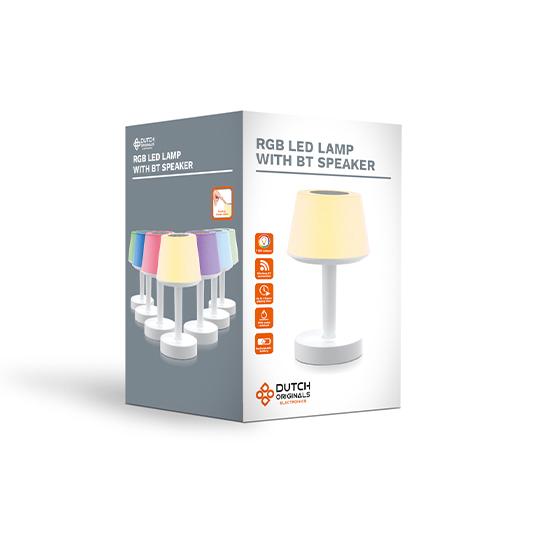 Lamp Met Bluetooth Speaker1