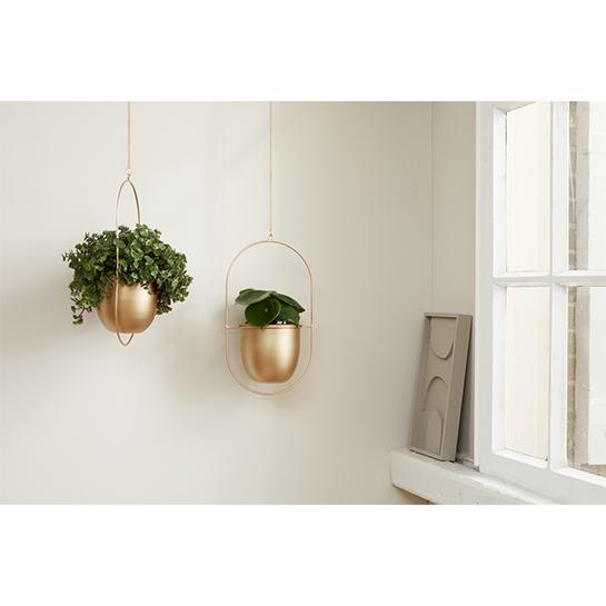 Lifa Living Plantenhanger Tess Brons2