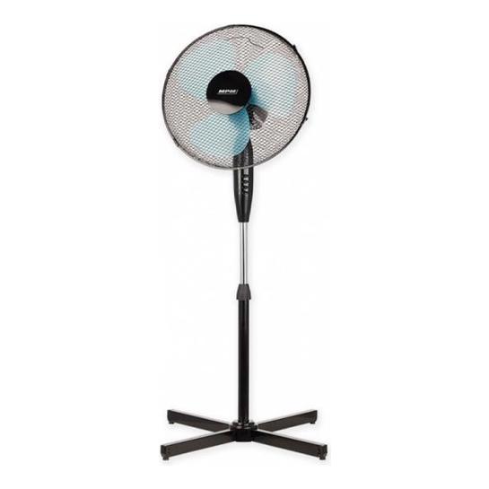 Mpm Staande Ventilator 50w Zwart