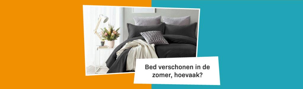 Blog Banner Bed Verschonen In De Zomer