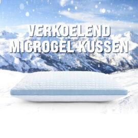 3d Blue Cell Verkoelend Microgel Kussen7