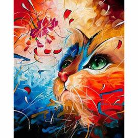 Blue Orange Cat