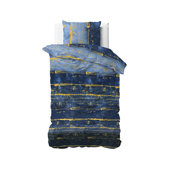 Dekbedovertrek Scratchy Blue1